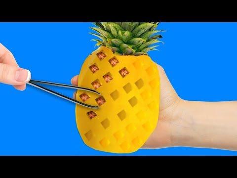 22個超級巧妙的水果小竅門