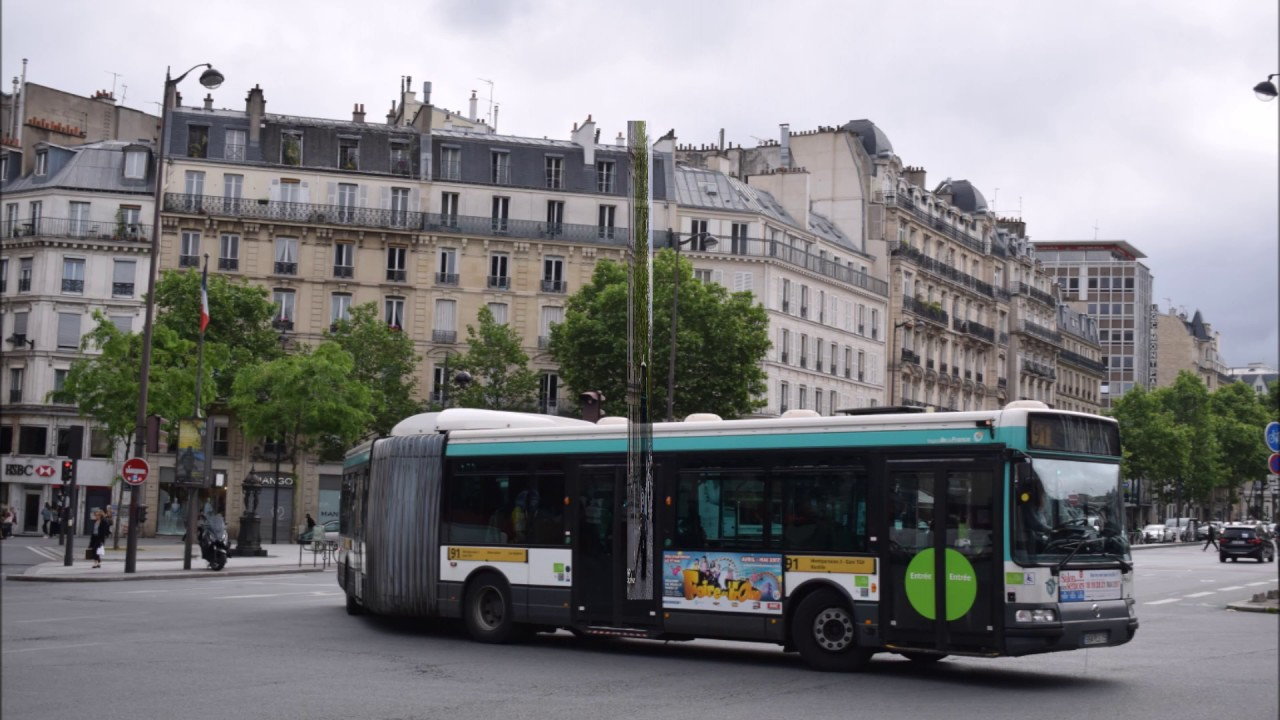 la ligne de bus ratp 91 quais de seine ivry montparnasse 2 gare tgv bastille youtube. Black Bedroom Furniture Sets. Home Design Ideas