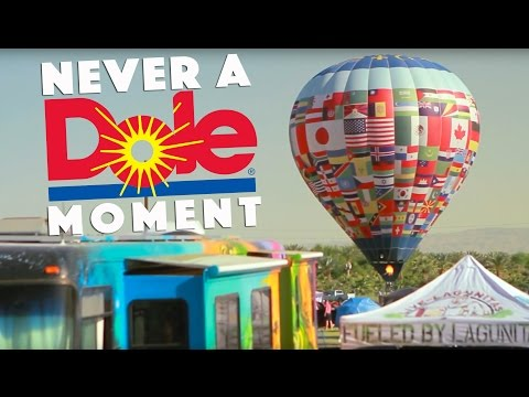 NEVER A DOLE MOMENT - THURZ (Hot Air Balloon Interview in Coachella Valley, CA 2016) #JAMINTHEVAN