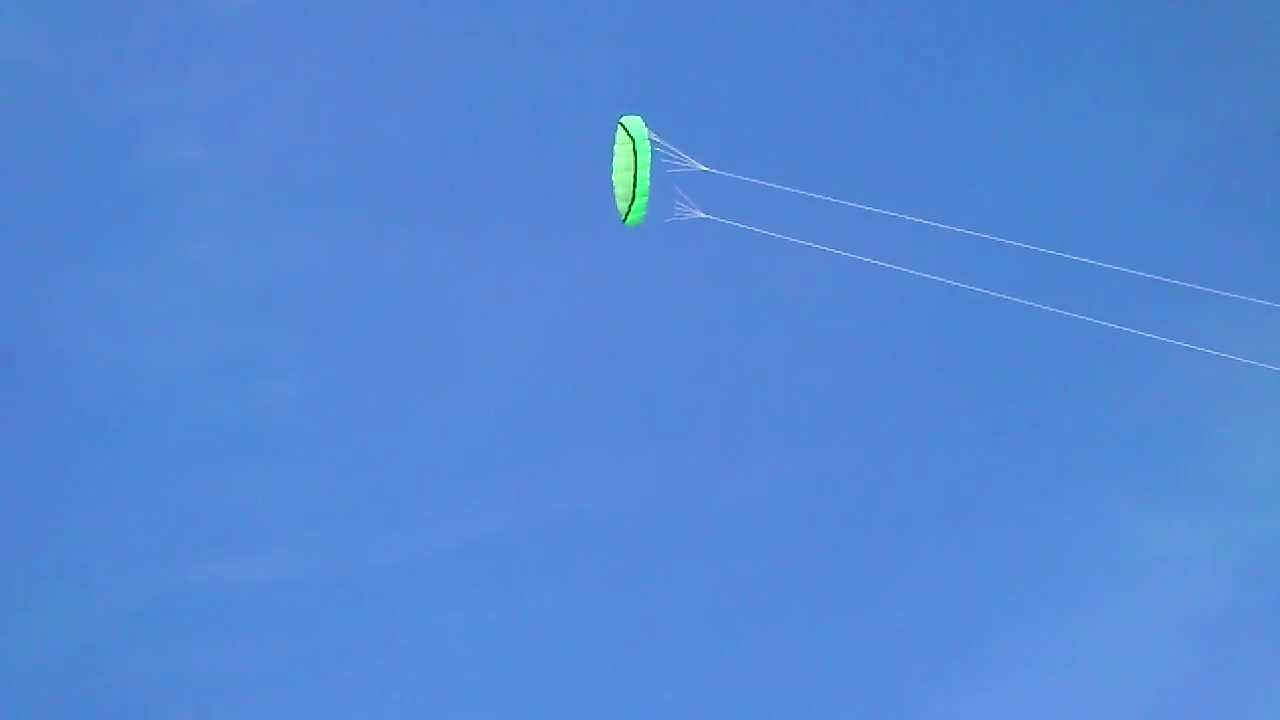 how to fly a parafoil stunt kite