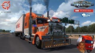 American Truck Simulator (1.36)   Peterlbilt 389 Edition Custom Danger v1.0 1.36.x Redding to Burney California US Expansion v2.6.2 + DLC's & Mods http://www.modhub.us/american-truck-simulator-mods/peterlbilt-389-edition-custom-danger-v1-0-1-36-x/  Suppor