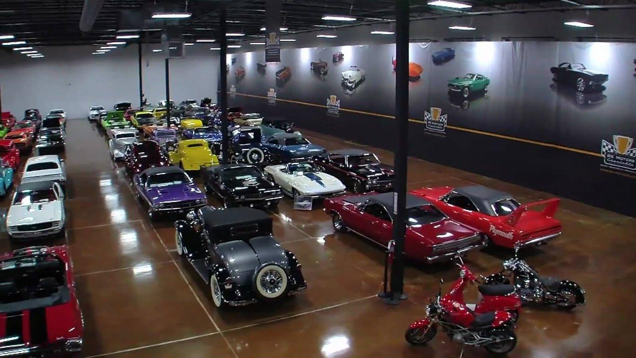 Classic Muscle Cars >> RK Motors Charlotte Showroom - YouTube