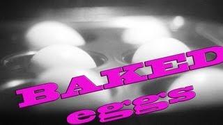 Easy To Peel Baked Eggs Better Than Hard Boiled Eggs