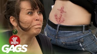 Painful & Botched Tattoo - Just For Laughs Gags