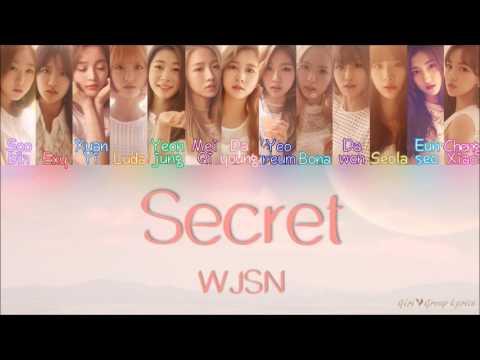 WJSN/Cosmic Girls (우주소녀) – Secret (비밀이야) [Color Coded Lyrics] (ENG/ROM/HAN)