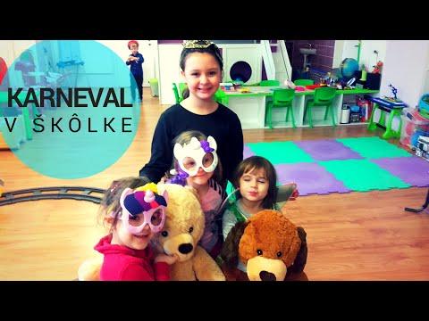 Karneval v škôlke - Súkromná materská škola Jahôdka - Banská Bystrica