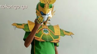 Download Video Membuat helm Legend Heroes Guan Yu Imperial + Cara Berubahnya MP3 3GP MP4