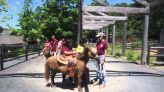 Pony Ride 1 @ Turtle Back Zoo 5/27/13