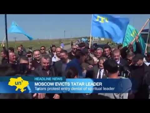 Crimean Tatar leader banned from Crimea: Russian border guards deny Mustafa Dzhemilev entry