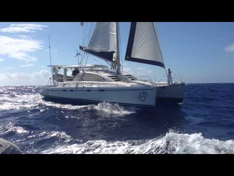 Om Sailing Charters LLC, Sailing to Cat Island from Long Island Bahamas