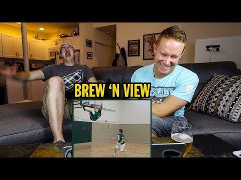 Watching Sean's Gatorade Trick Shot Grand Prize Winning Video Submission   Brew 'n View
