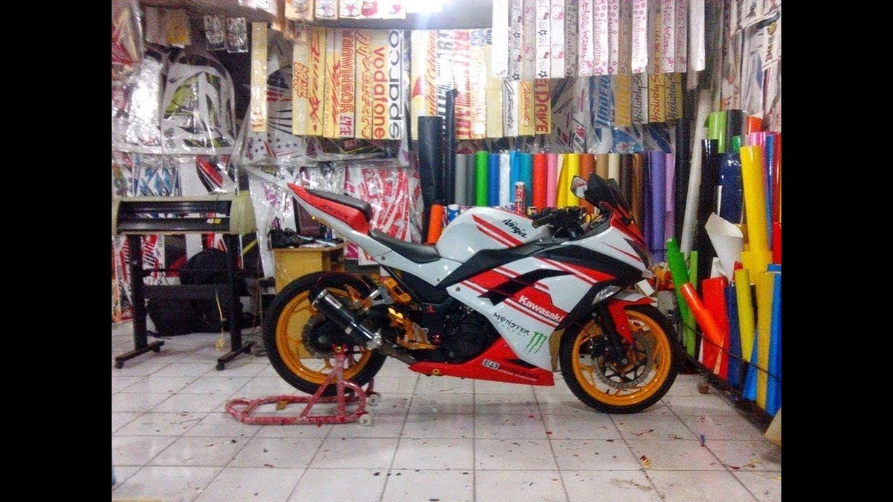 how to cutting sticker on bike youtube Cool Bike Stickers how to cutting sticker on bike