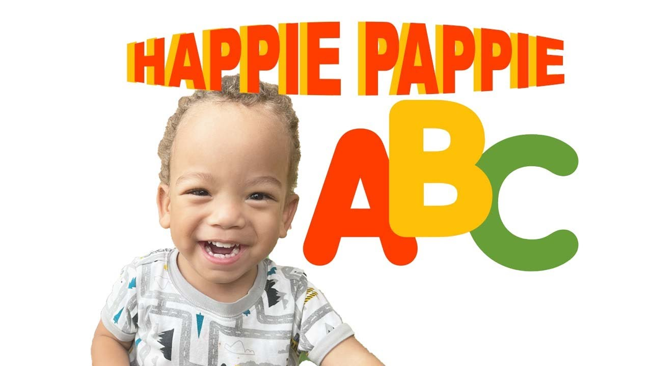 HAPPIE PAPPIE - THE ALPHABET SONG SING-A-LONG