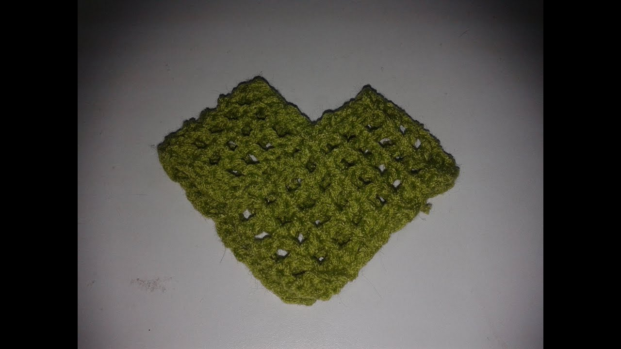 Cómo formar un poncho o capa con dos rectángulos tejidos a gancho o ...