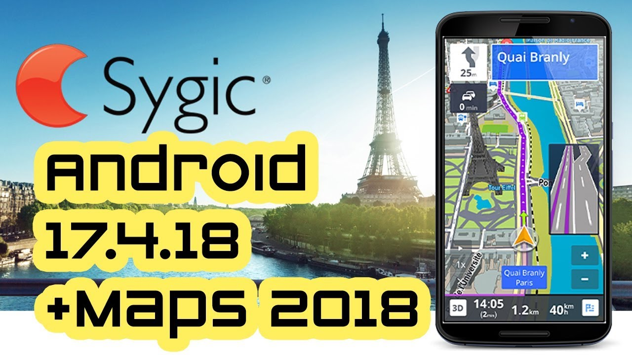 Sygic 17.4.18 FULL ❯❯❯ 🛰 GPS Navigation + World Maps 2018.06 ...