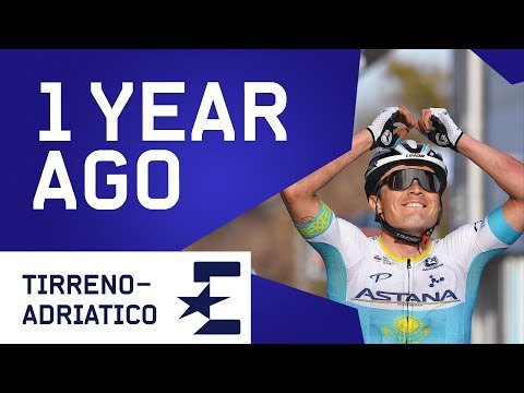 Alexey Lutsenko Crashes Twice In Miracle Win   1 Year Ago   Cycling   Eurosport