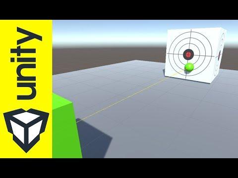 Exploiter les rayons avec Unity : Ray Raycast RaycastHit - YouTube