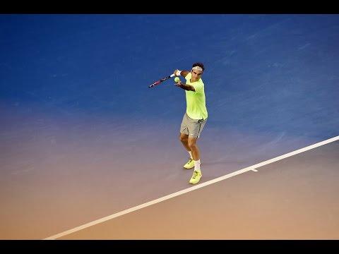 Yen-Hsun Lu v Roger Federer highlights (1R) - Australian Open 2015