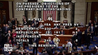 WATCH LIVE: House votes on overriding Trump