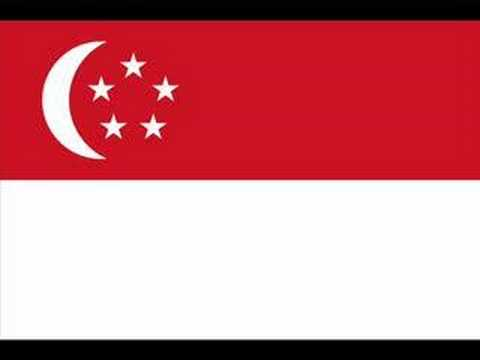 National Anthem of Republic of Singapore 新加坡共和国国歌