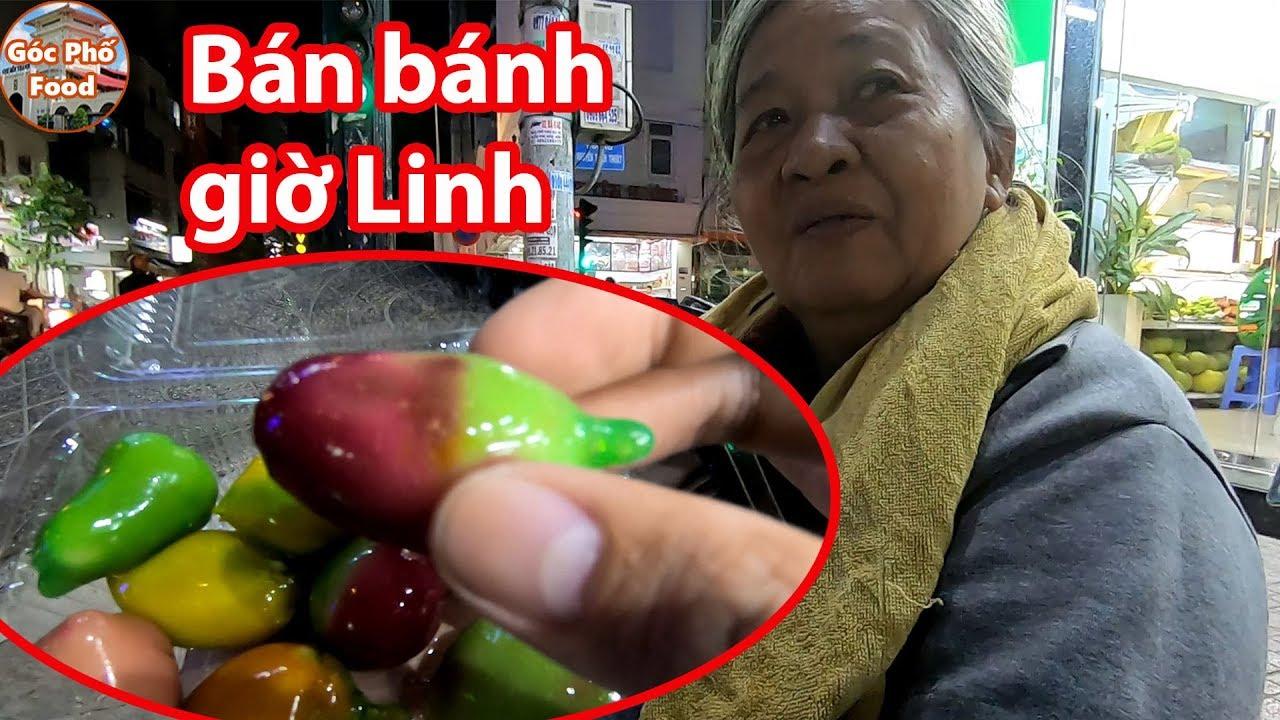 Khiếp hồn bà cụ bán bánh TRÁI CÂY ĐẬU XANH chạy từ HOCMON lên quận 3 bán xong về