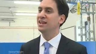 Ed Miliband comments on his visit to Worcester Thumbnail
