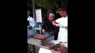 Club Teos Chicken Kebab -  Live at the BBQ
