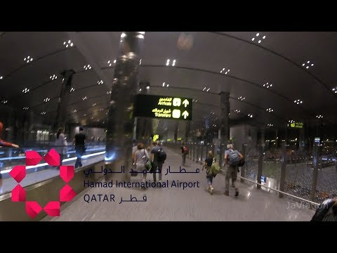 Hamad International Airport Doha |  Gate B3 to Transfer Security