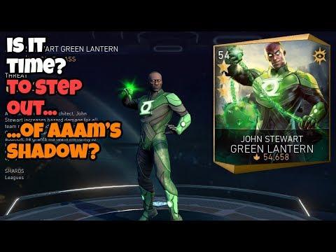 Injustice 2 Mobile   John Stewart Green Lantern   Time To Shine?
