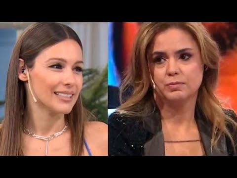 """Pampita sigue atacando a Marina Calabró y ningunéandola:""""Ella me mira, yo nunca escuche su programa"""""""