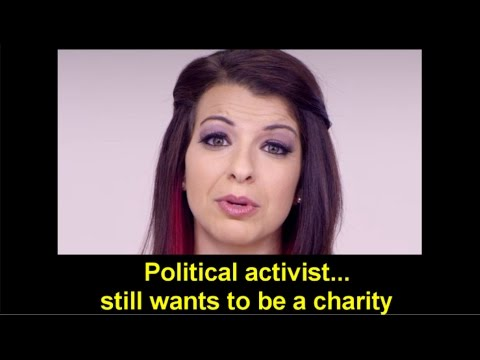 Anita Sarkeesian MASSIVELY violating tax exemption requirements!