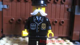 Lego ninjago custom #6 : echo Zane ,kryptarium director and more !