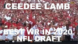 WHY CEEDEE LAMB IS THE BEST WIDE RECEIVER IN THE 2020 NFL DRAFT
