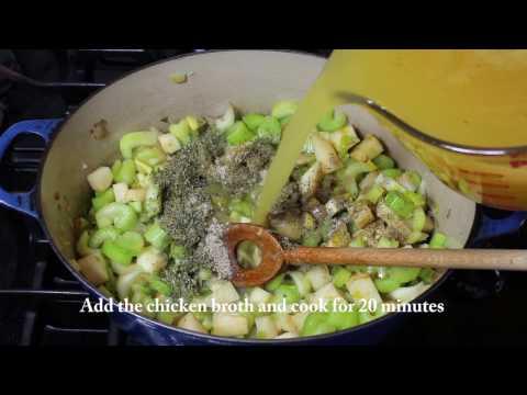 Cream Of Celery Soup Recipe!