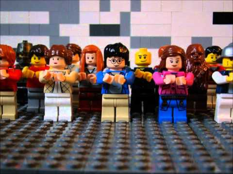 We Will Rock You - Lego Music Video