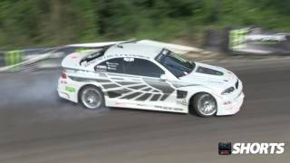 Drift.ro Shorts:Girl takes 700 horsepower BMW M3 E46 on mountain