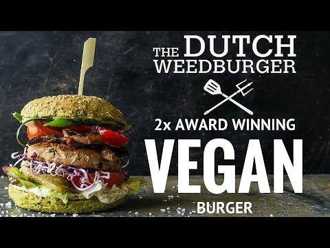 Dutch Weed Burger - Viva Las Vega's - Amsterdam Vegan Festival