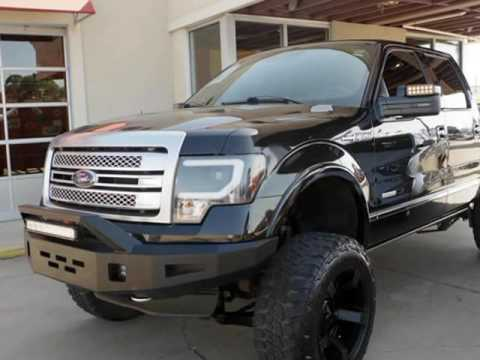 2014 ford f150 crew cab platinum custom 4x4 with lift kit for Ford f150 paint job cost