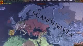 Europa Universalis IV -Svea Rike (My Swedish Empire) Timelapse