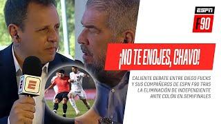 ¡NO TE ENOJES, CHAVO! #Fucks explotó contra todos tras la eliminación de #Independiente ante #Colón