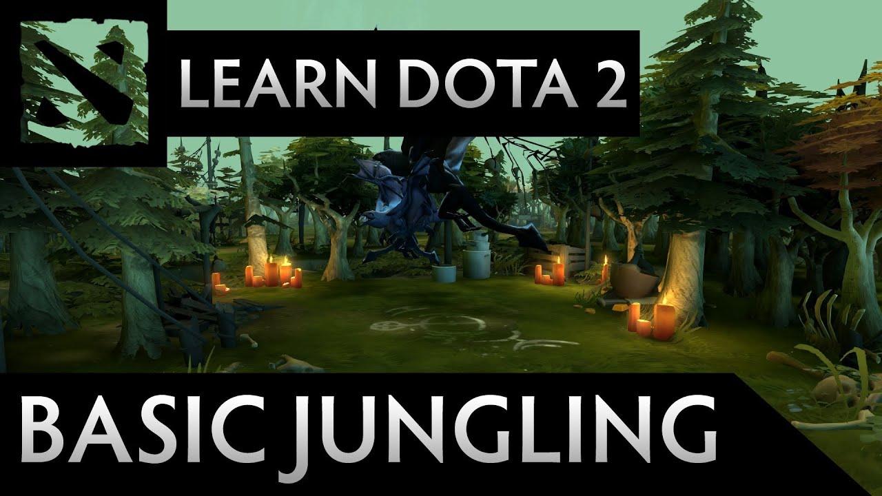 Learn Dota 2  Basic Jungling  YouTube