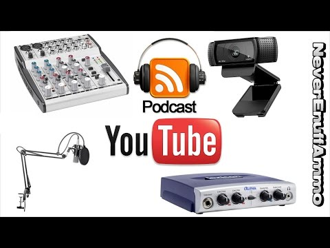 How to Podcast - Equipment u Need - Youtube Live Stream Mp3