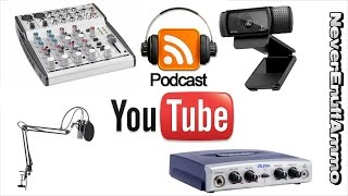 How to Podcast - Equipment u Need - Youtube Live Stream