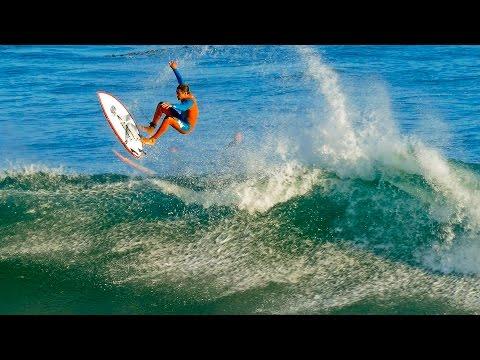 Big Waves at Pleasure Point Surfing Santa Cruz California. Funny Wipeouts Unedited Video