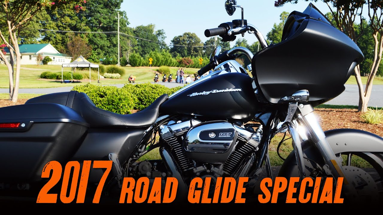 Road Glide Special 2017 >> 2017 Harley-Davidson® FLTRXS - Road Glide® Special Black Denim - YouTube