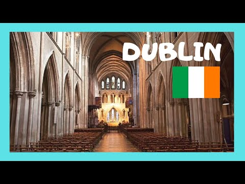 DUBLIN, inside the magnificent ST. PATRICK'S CATHEDRAL (Ireland)