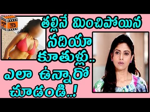 Actress Nadhiya Daughters Glamour Show || Nadhiya Daughters || Tollywood Boxoffice