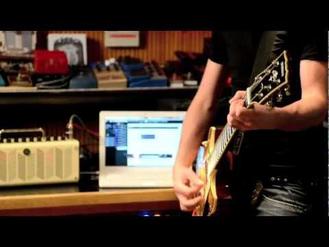Recording an entire track using only the Yamaha THR...
