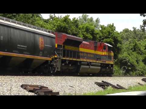 2012-06-15 Trains Along the KCS