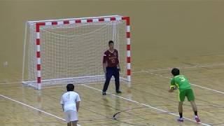 20191215福岡県高校新人ハンドボール(男子)準々決勝 西南学院vs光陵(前半)